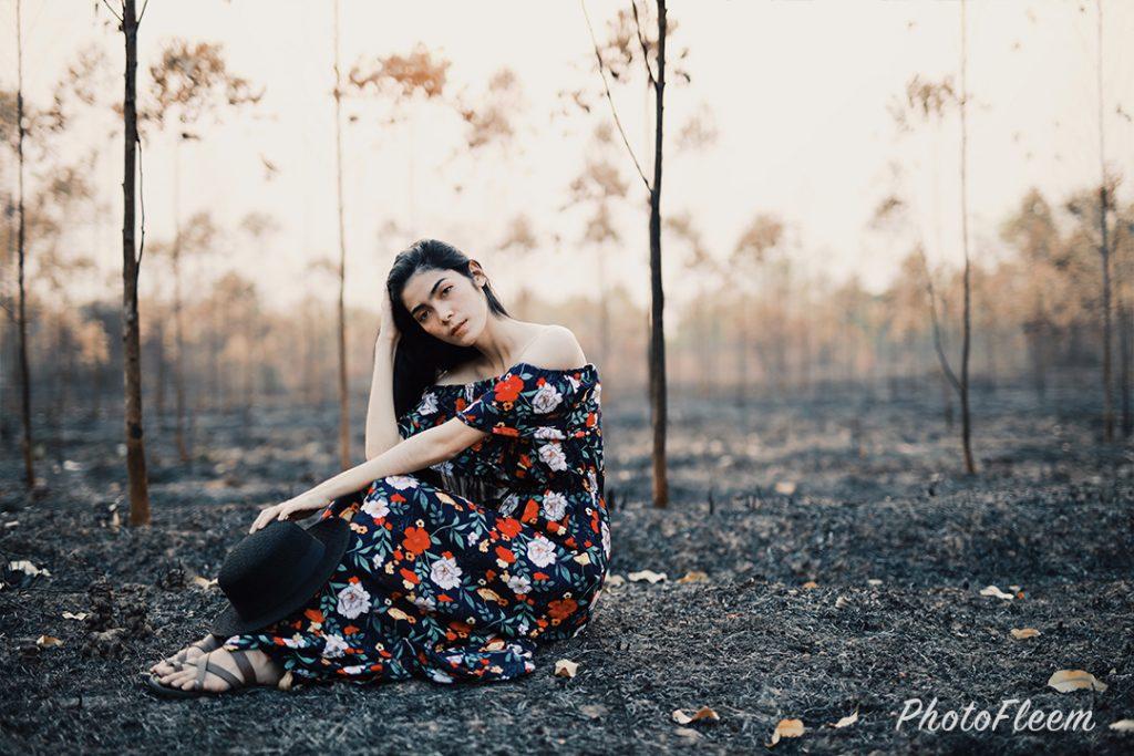 ภาพถ่ายพอร์ทเทรตโทนป่าแห้ง แอพ vsco
