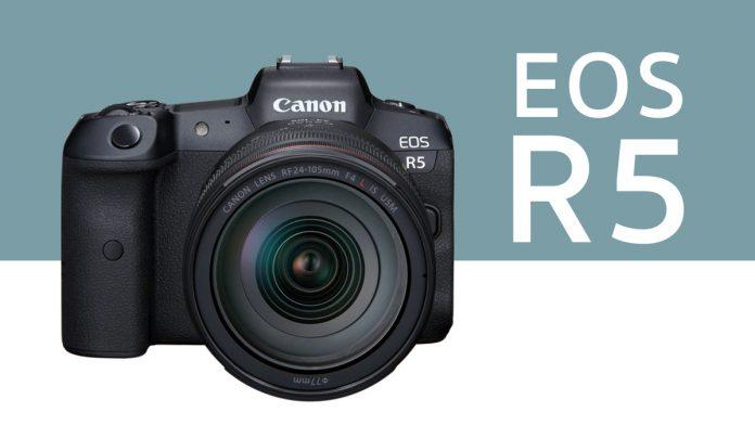 canon eos r5 spec