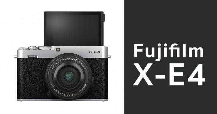 เปิดตัว Fujifilm X-E4