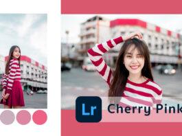 วิธีแต่งรูปโทน Cherry Pink แอพ Lightroom