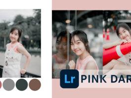 แต่งรูป Lightroom โทน Pink and Dark